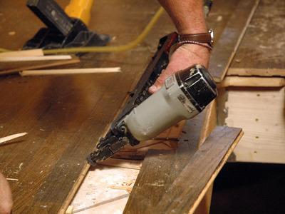 Celková renovace dřevěné plovoucí podlahy