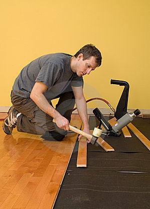 Podlahář - pokládka plovoucí podlahy